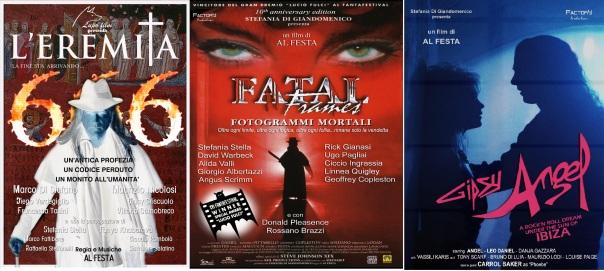 Tre film fra tanti diretti da Al Festa.